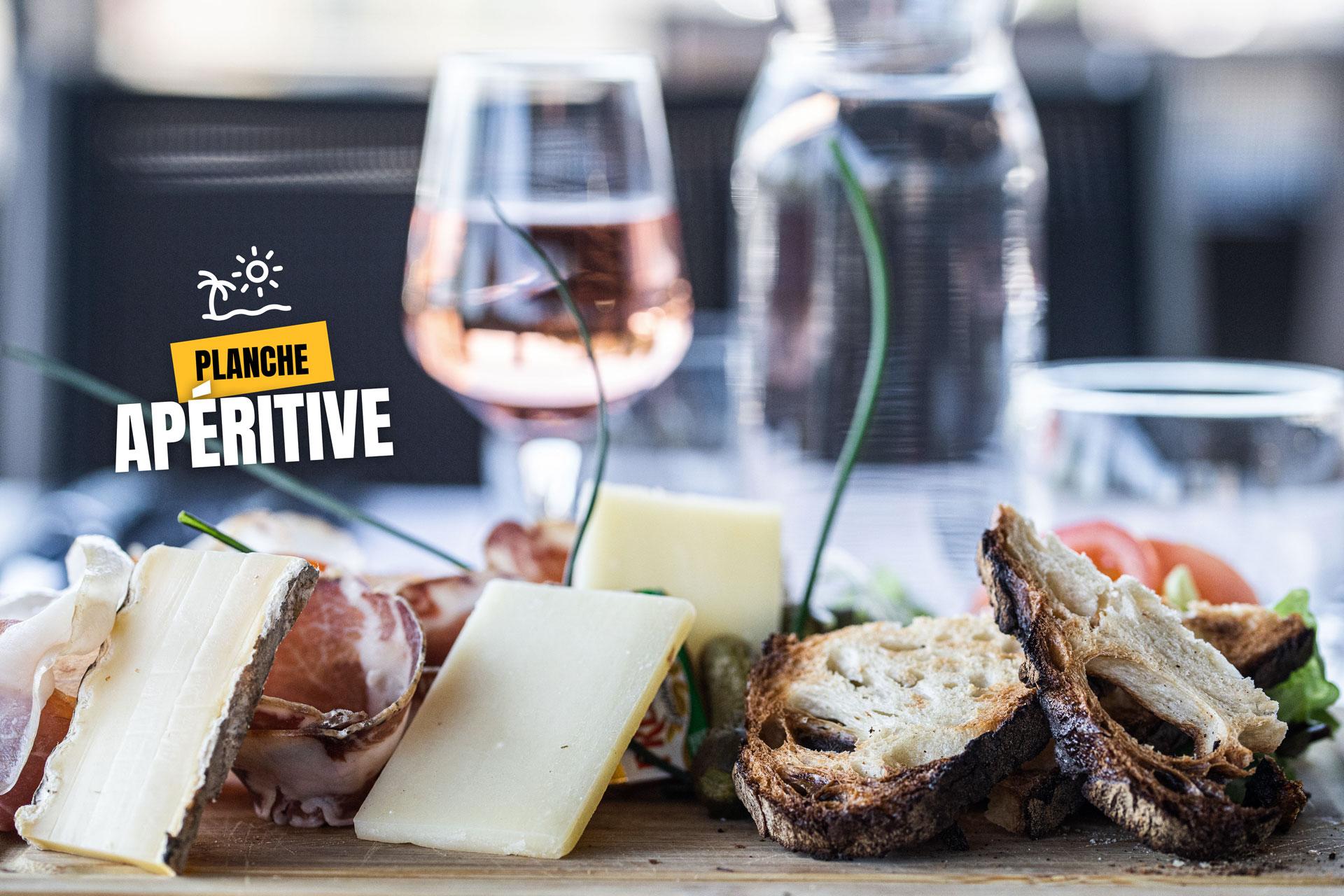 planche aperitive restaurant saint contest l'atelier gourmand