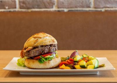 restaurant saint contest burger chèvre lard